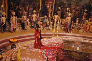 foto-foto-syuting-pooja-sharma-sebagai-drupadi-di-serial-mahabharata-3